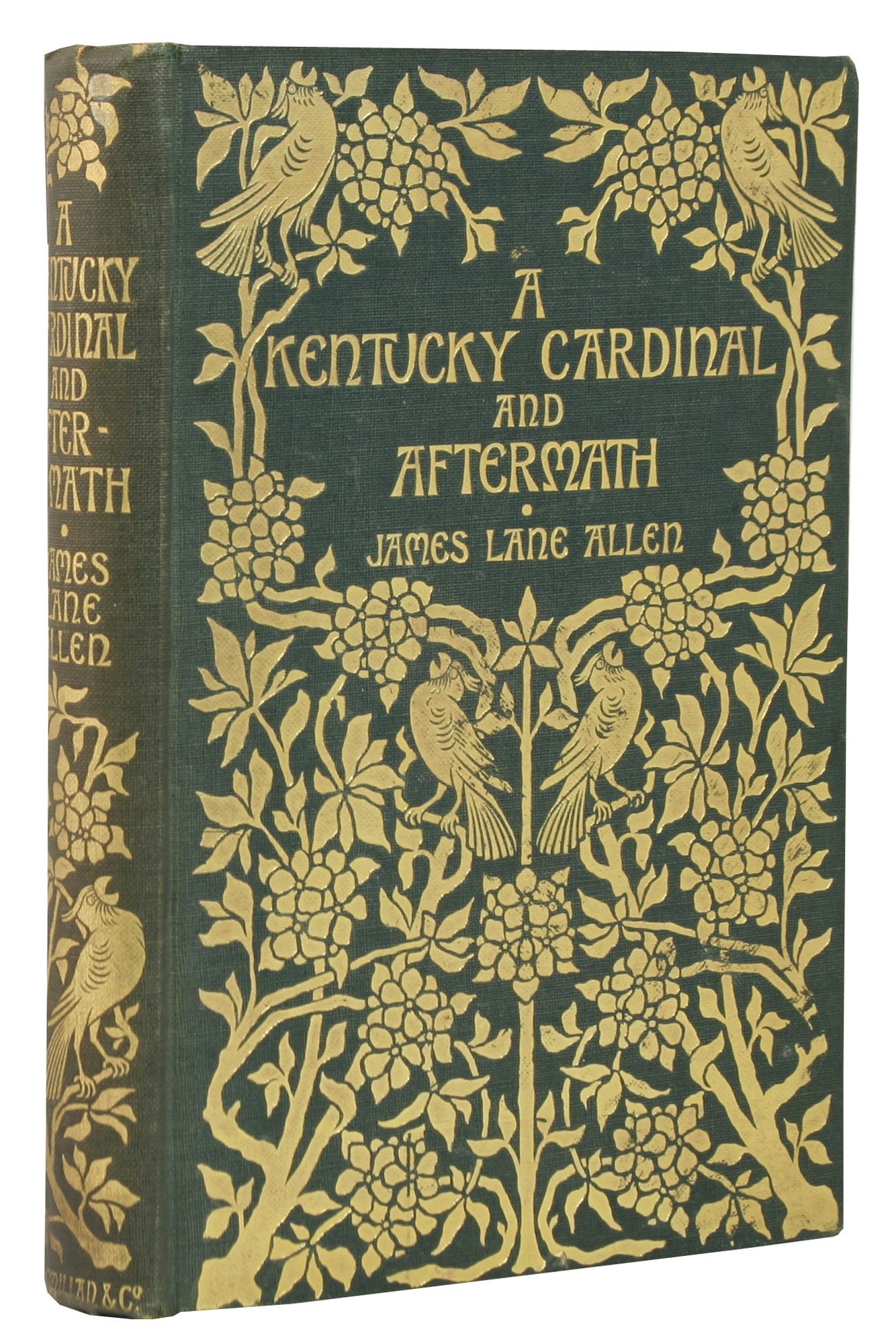 A Kentucky Cardinal and Aftermath - ,