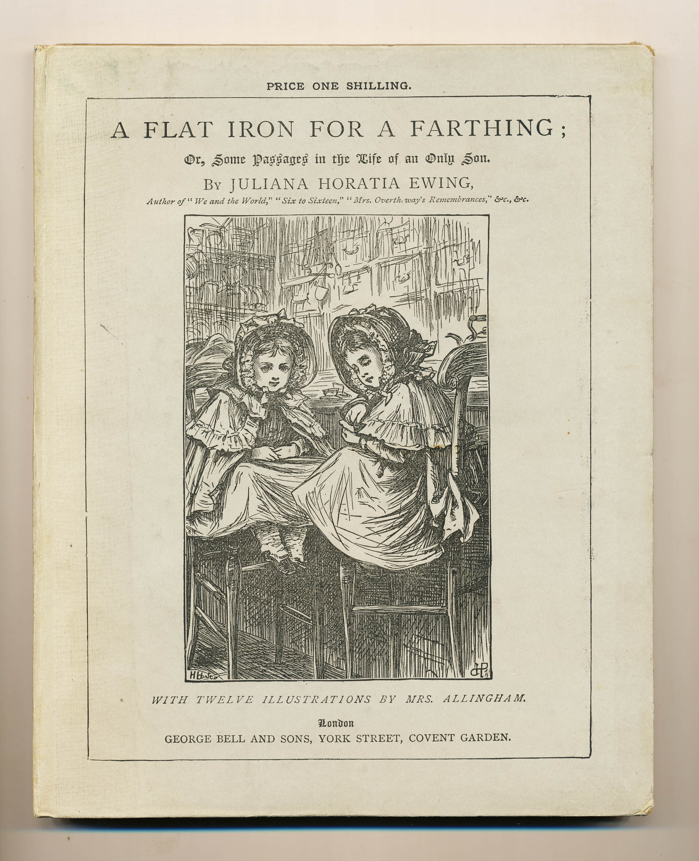 A Flat Iron for a Farthing - ,