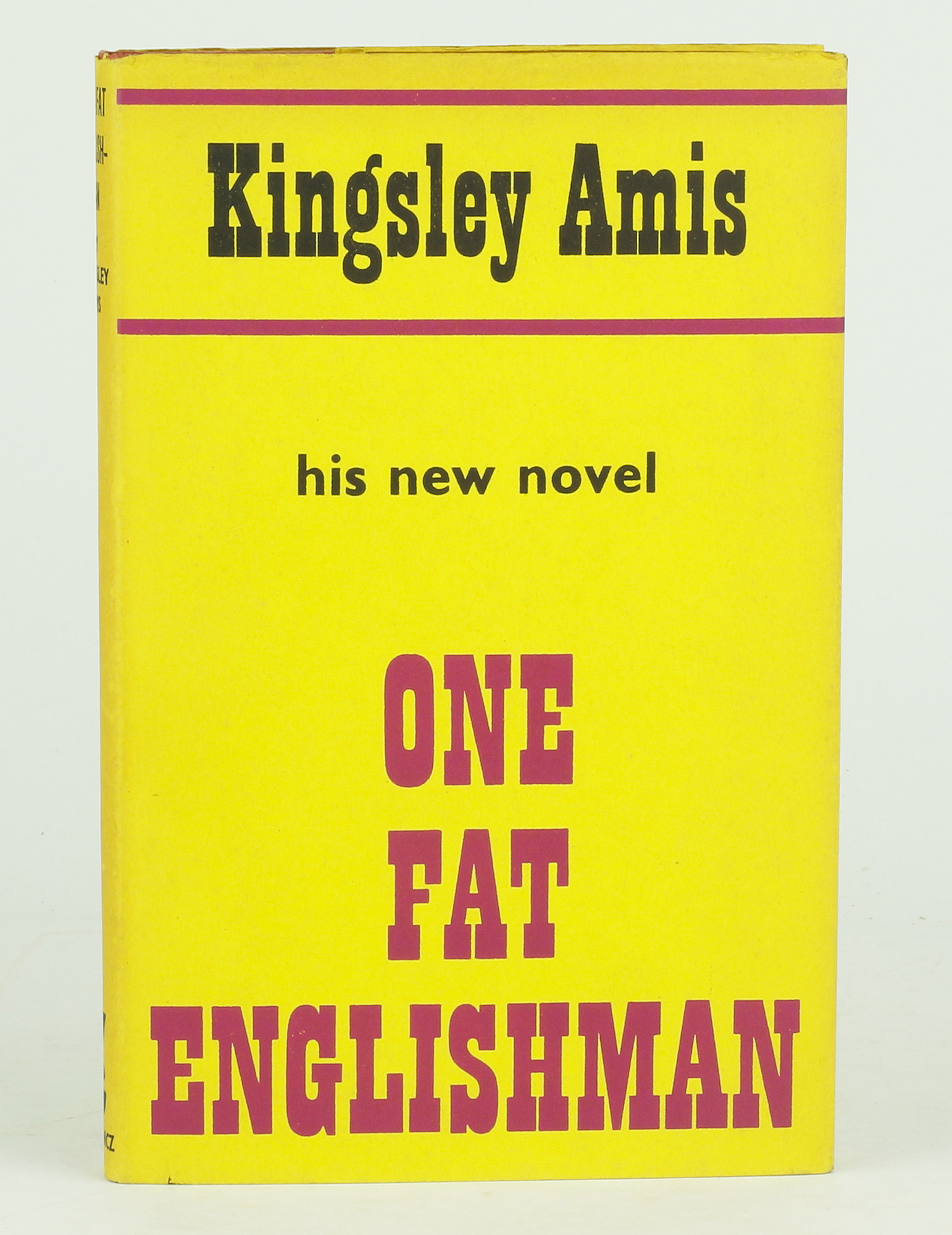 an analysis of one fat englishman by kingsley amis Larkin, kingsley amis and martin amis through a detailed examination of their   {one fat englishman} reminded me more of lj [lucky jim], where a nasty.