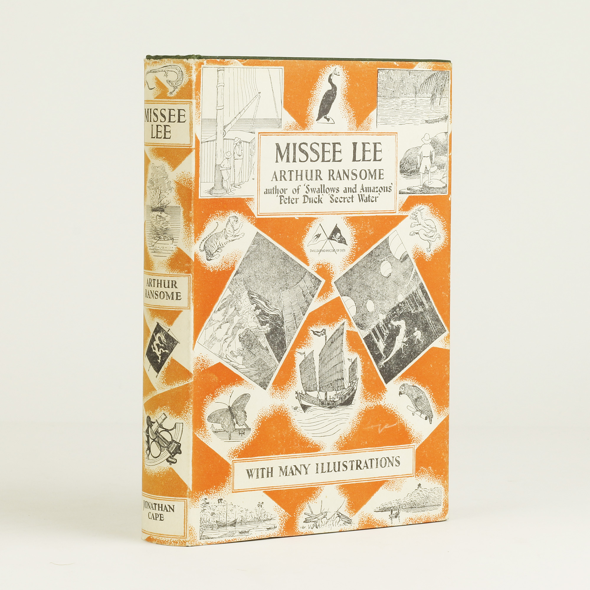 Missee Lee By Ransome Arthur Jonkers Rare Books border=