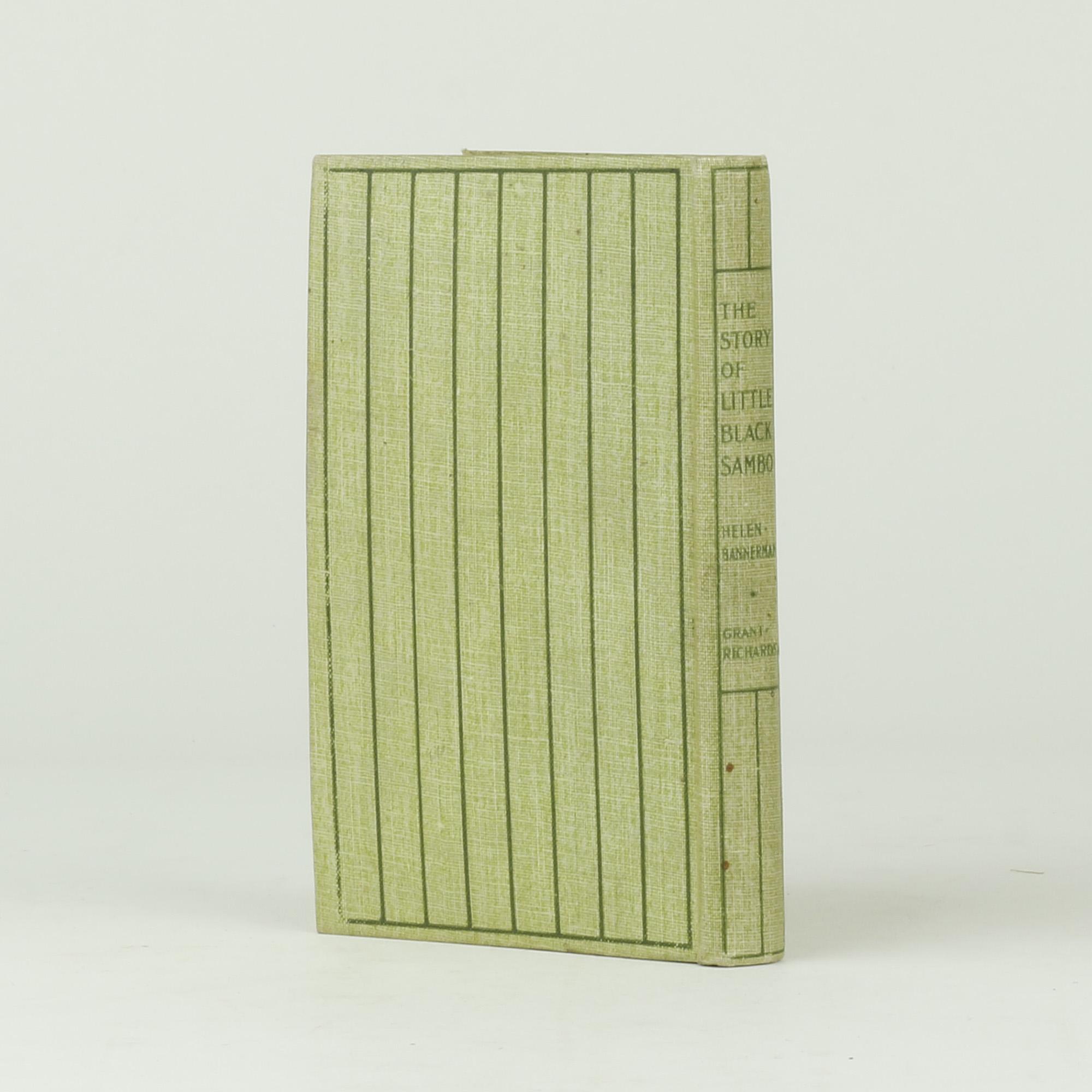 Little Black Sambo by BANNERMAN, Helen - Jonkers Rare Books