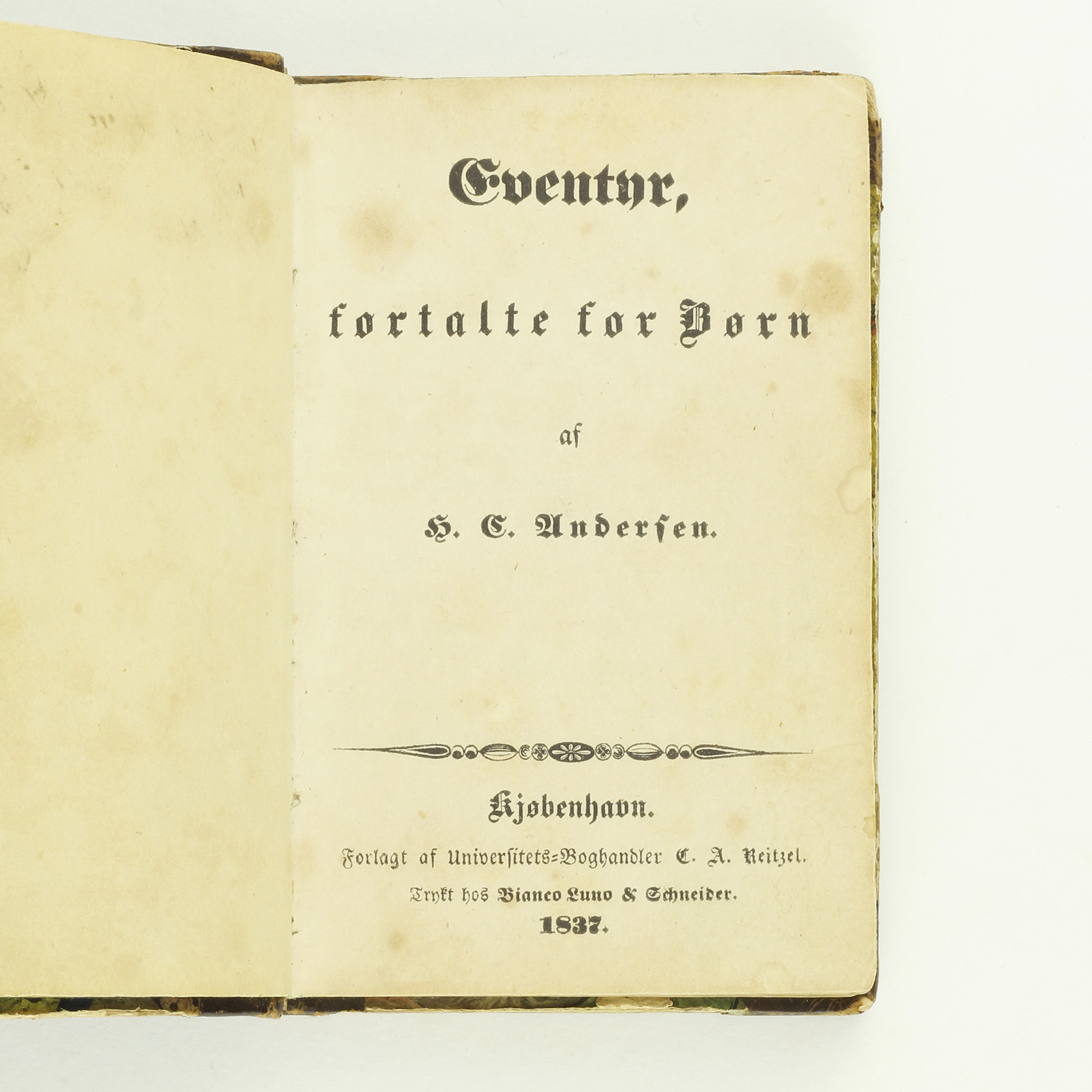 Eventyr, Fortalte for B�rn [Fairy Tales Told for Children] by ...