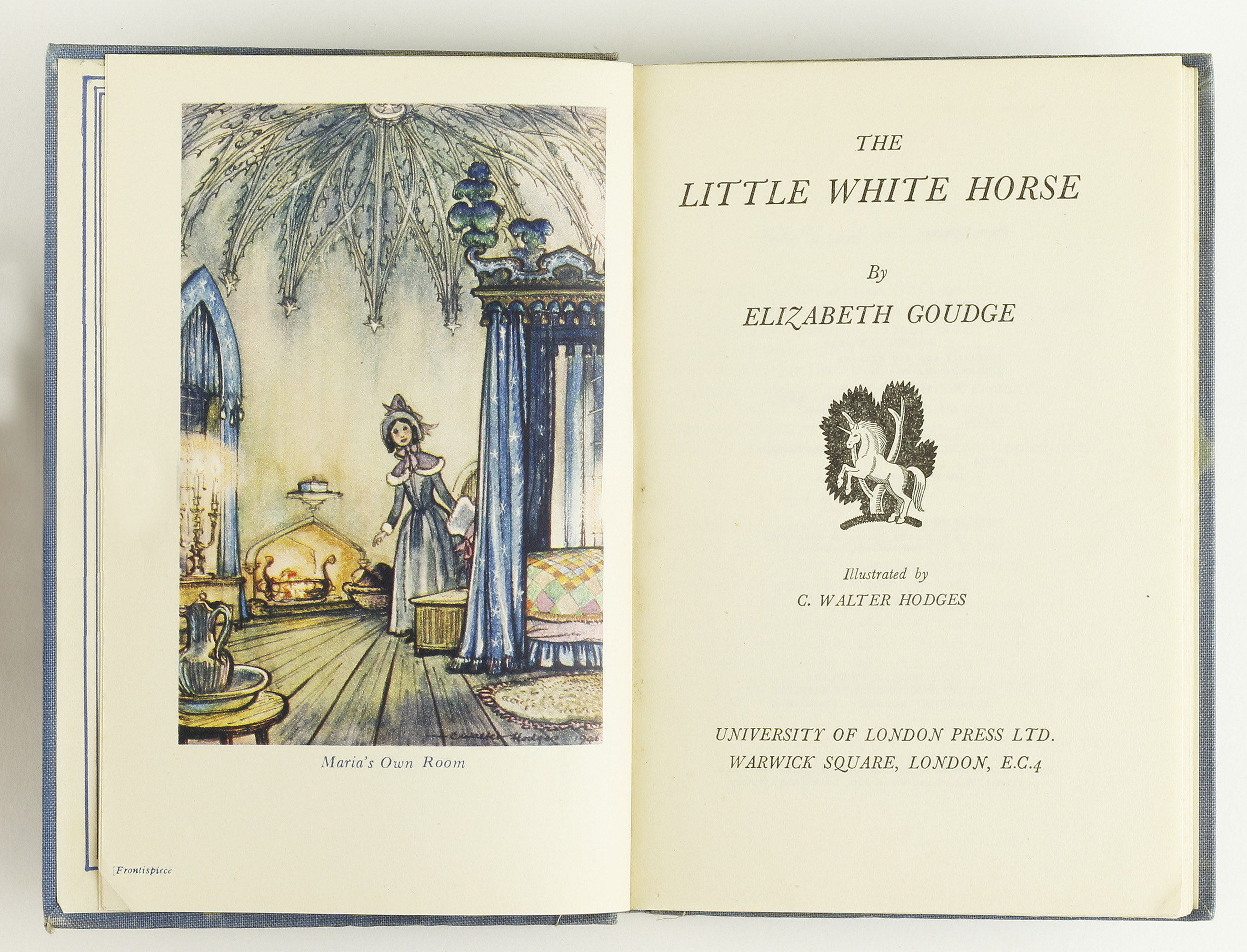 The Little White Horse By Goudge Elizabeth Jonkers Rare Books