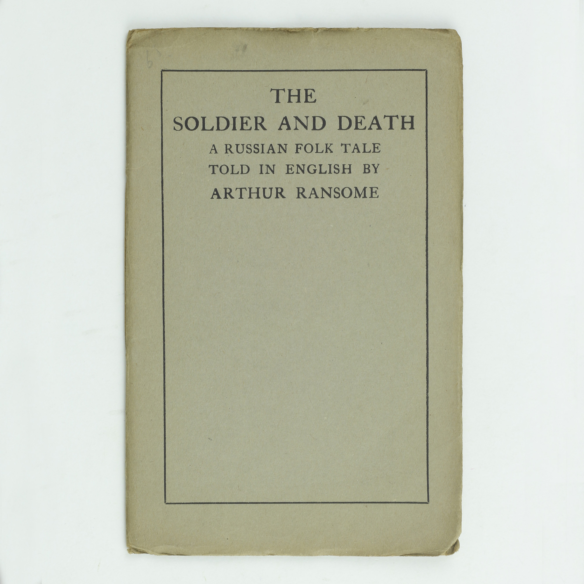 The Soldier and Death - ,