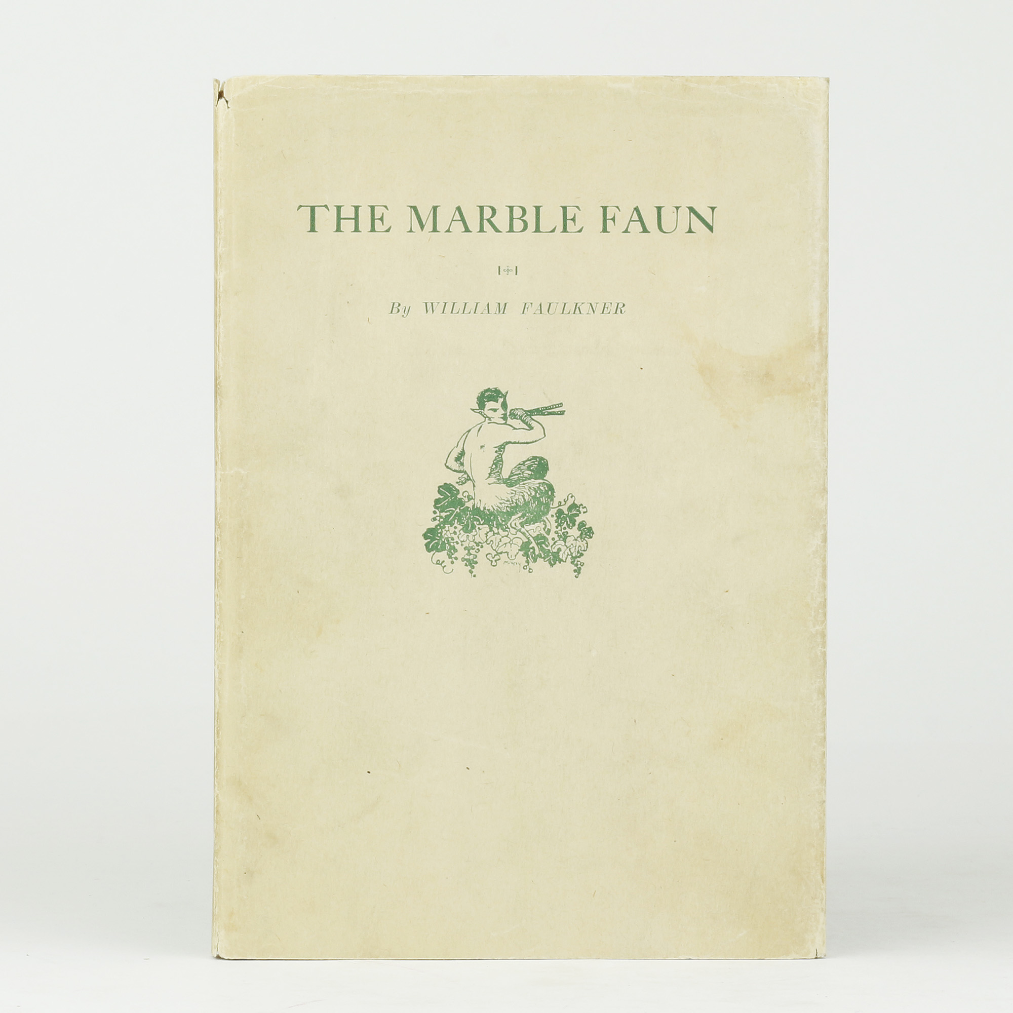 The Marble Faun By Faulkner William Jonkers Rare Books
