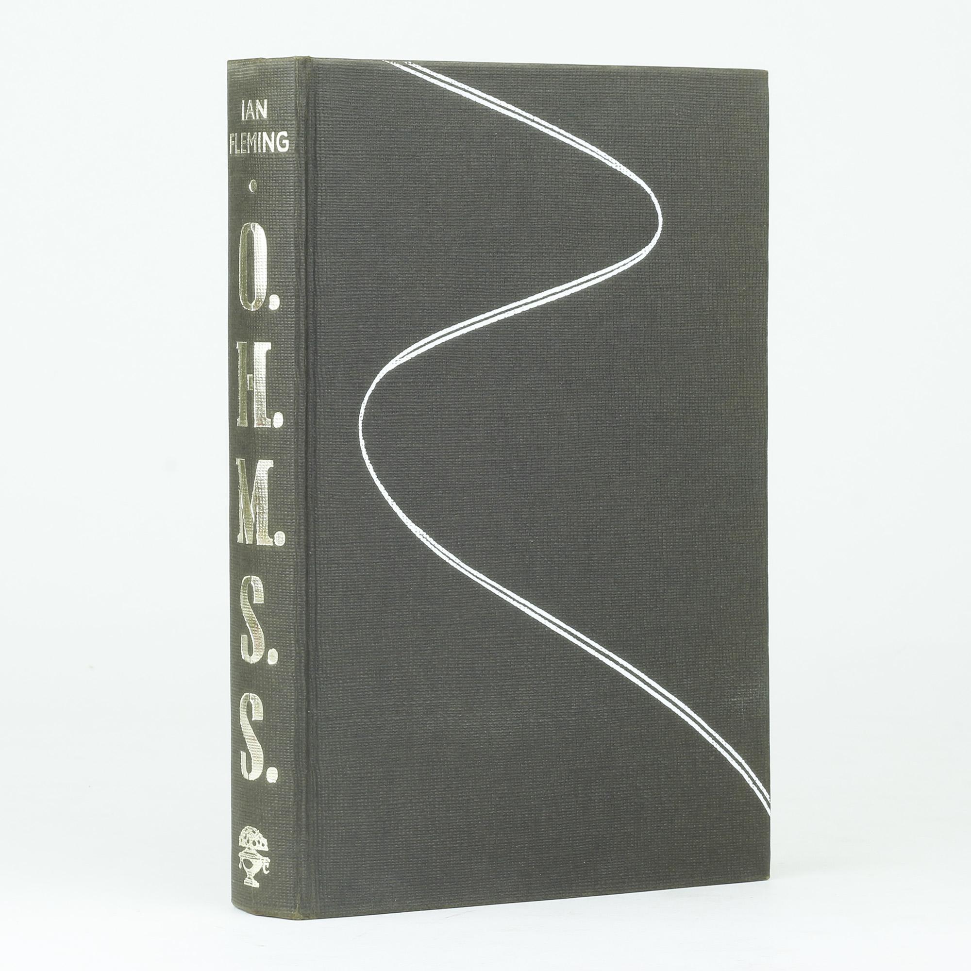 IAN FLEMING - ON HER MAJESTY'S SECRET SERVICE -1st EDITION (1963)