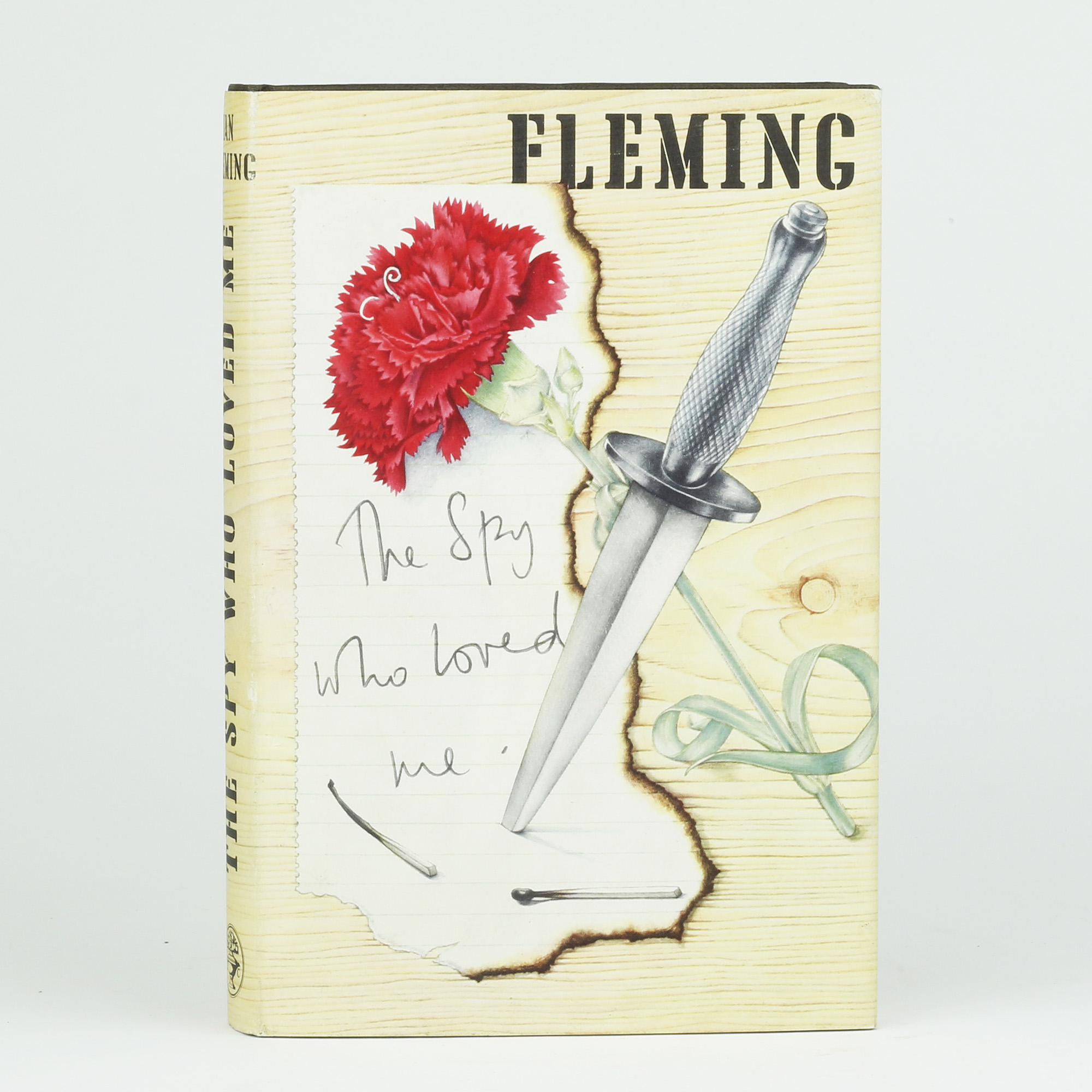 1962 THE SPY WHO LOVED ME Ian Fleming First UK Edition 1st Print James Bond 007