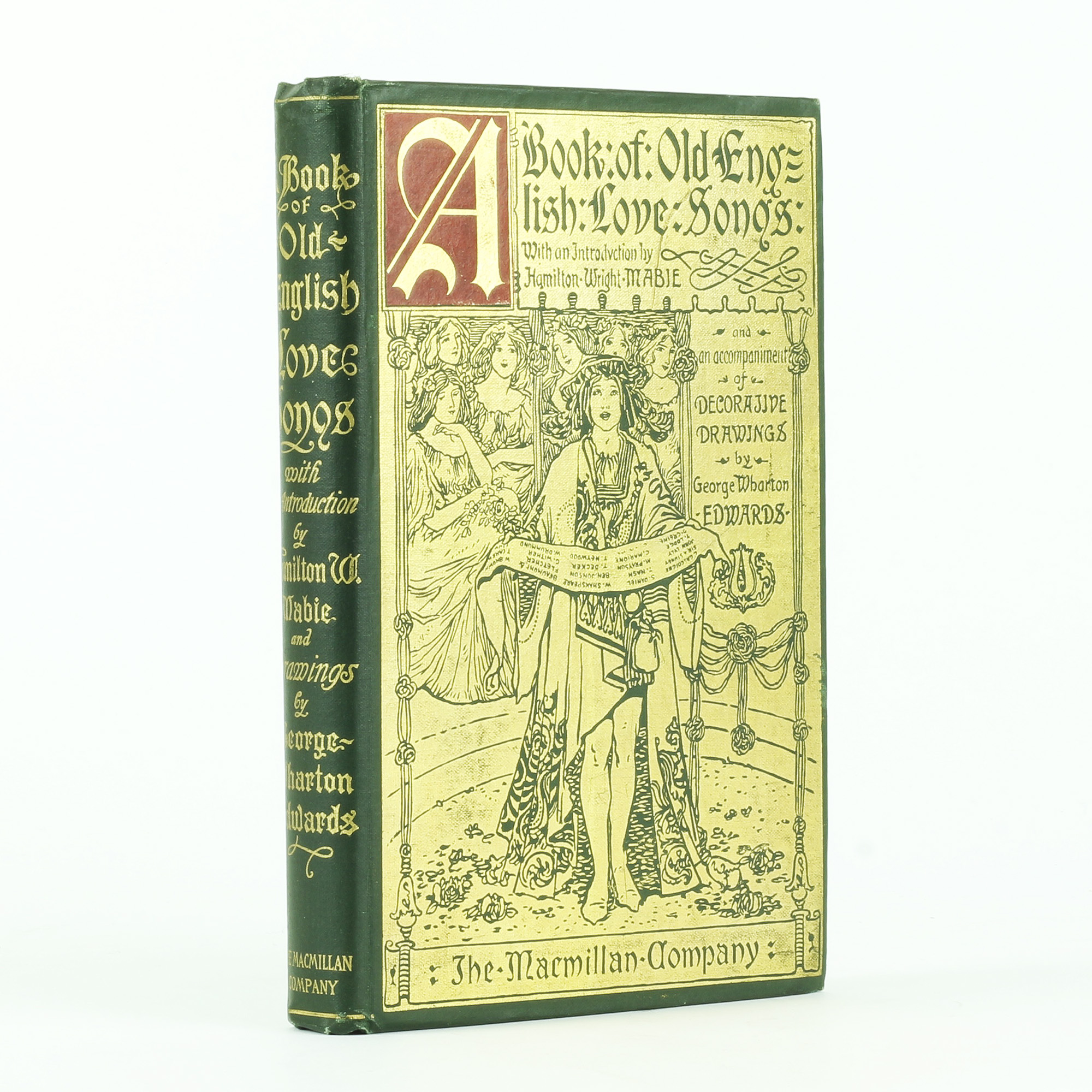 A Book of Old English Love Songs by SHAKESPEARE, William