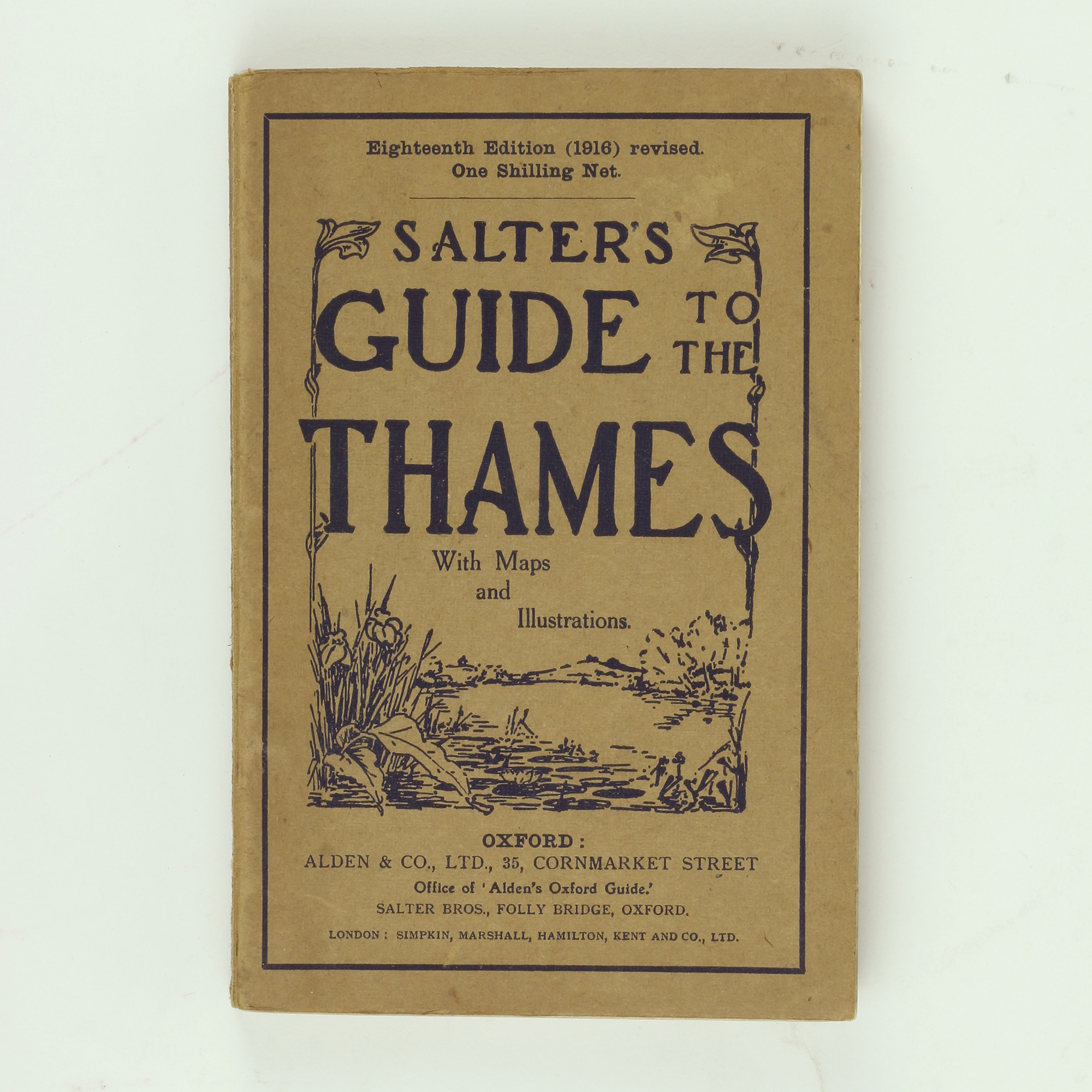 Salter's Guide to the Thames 1916 - ,