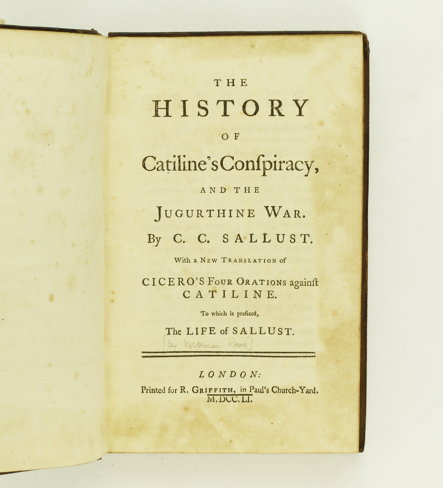 cicero and sallust catiline conspiracy Chronology of the conspiracy of catiline began to execrate the projects of catiline, to extol cicero to the skies conspiracy of catiline sallust rev.