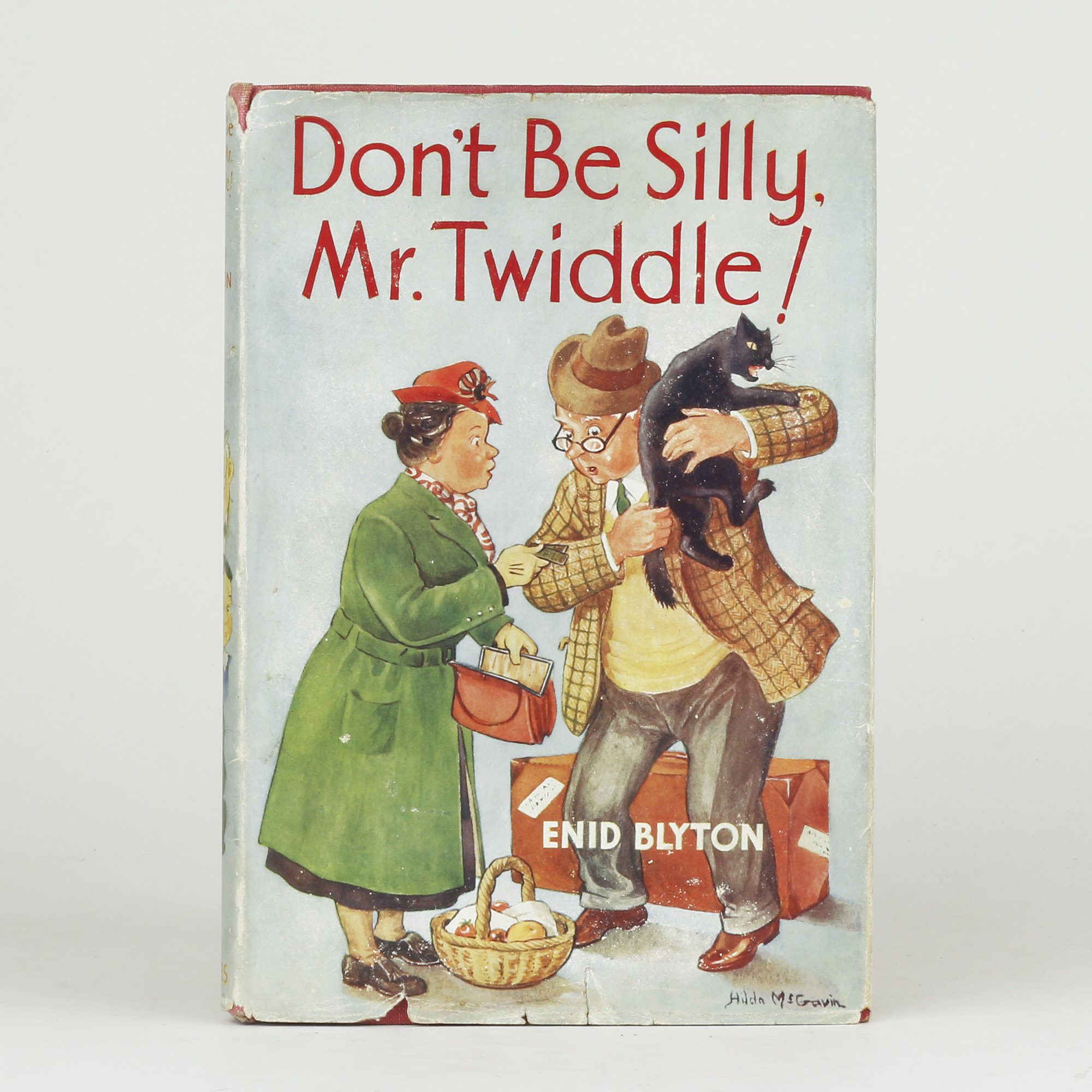 Don't Be Silly, Mr. Twiddle! by BLYTON, Enid - Jonkers
