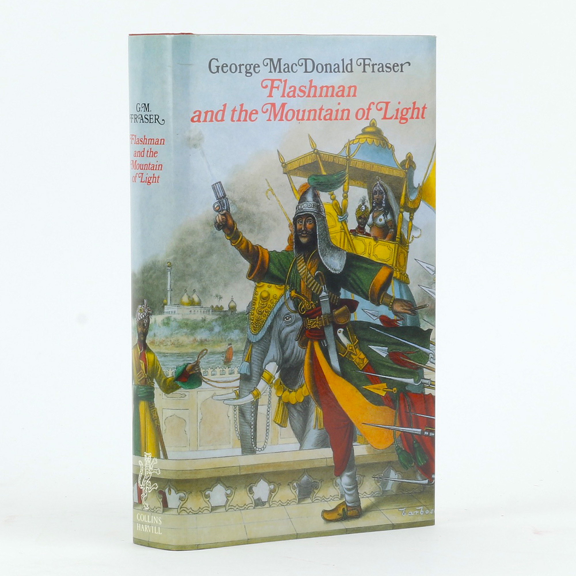 Flashman and the Mountain of Light by George MacDonald Fraser (1991, Hardcover)