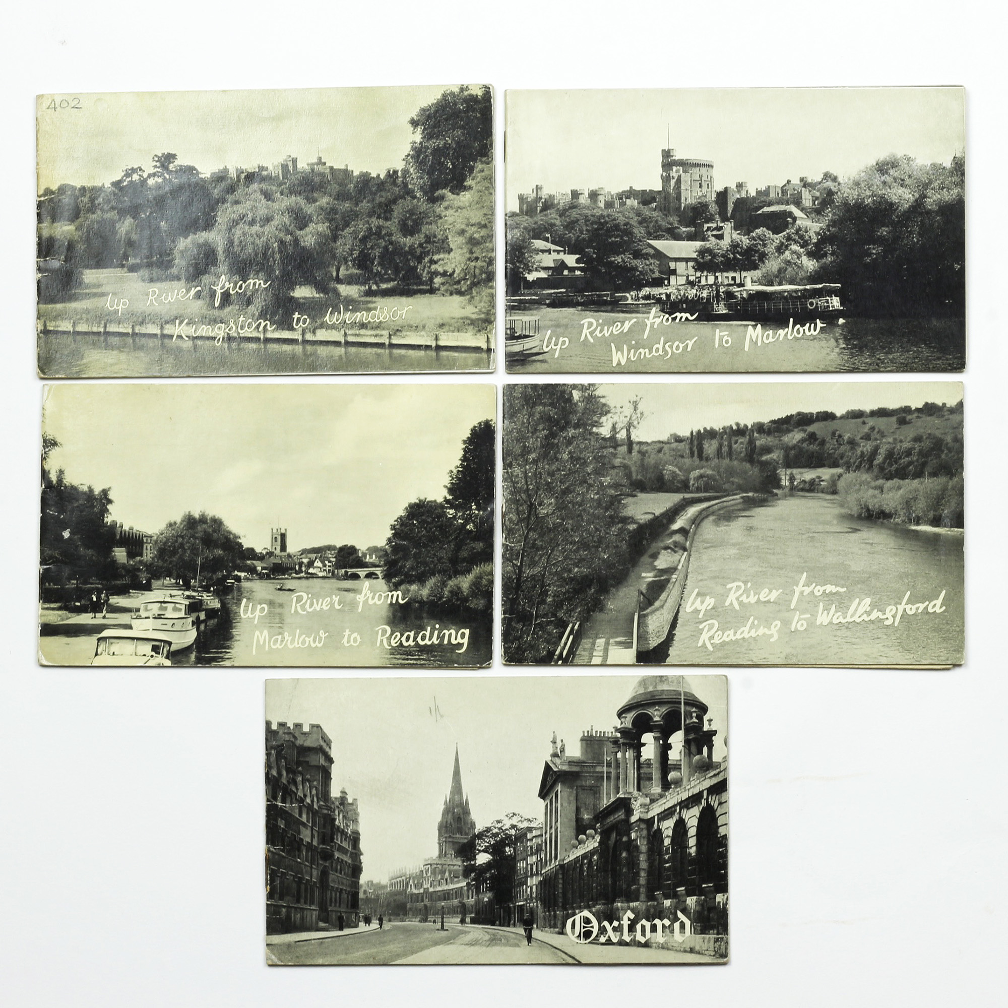 A Set of Five Books of Photographs From Kingston to Oxford - ,