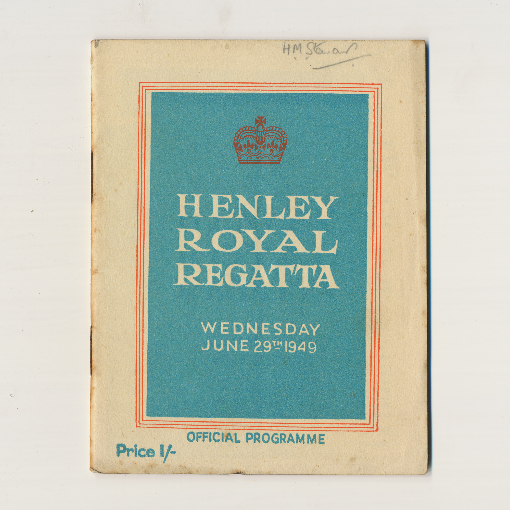 Henley Royal Regatta Official Programme - ,