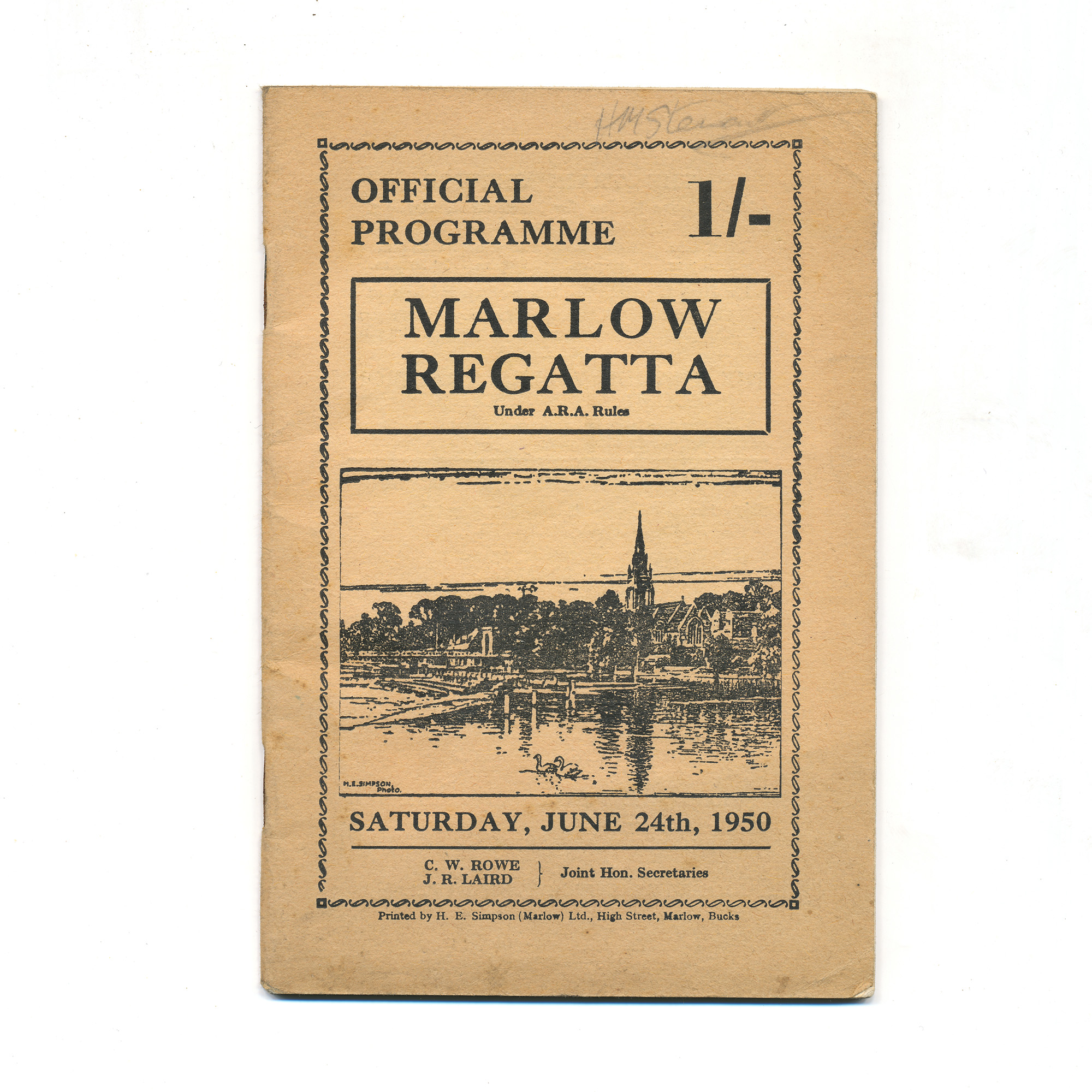 Marlow Regatta Official Programme - ,
