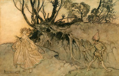 Original Watercolour for a Midsummer Night's Dream - ,