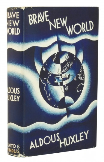 a research paper on aldous huxleys book brave new world Brave new world - a review of aldous huxley's the title of the book aldous huxley chose brave new world after reading william in all the papers.