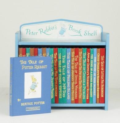 Peter Rabbit S Book Shelf By Potter Beatrix Jonkers