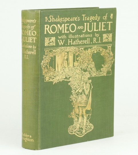 Romeo and Juliet by SHAKESPEARE, William / HATHERELL ...