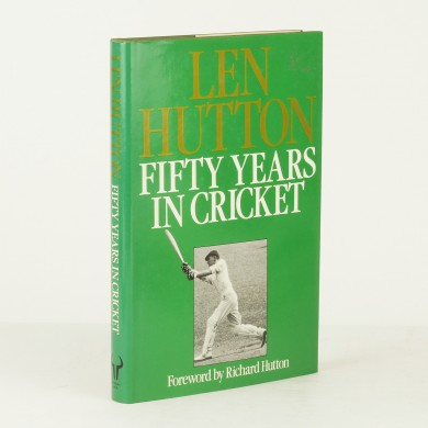 Fifty Years in Cricket - ,