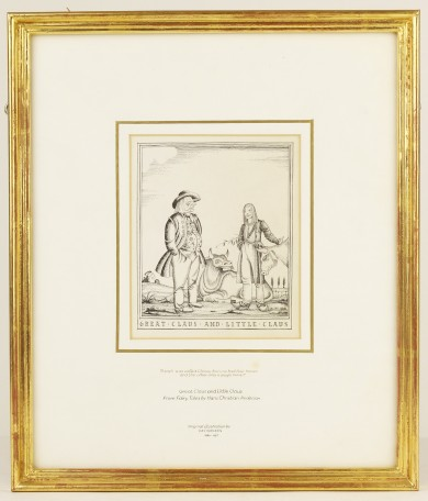 Original Drawing for Fairy Tales by Hans Christian Andersen - ,