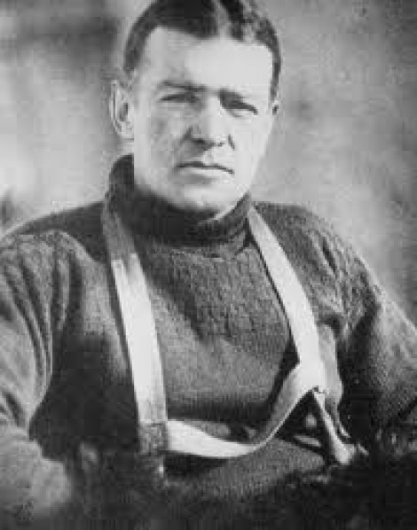 Ernest. H. SHACKLETON
