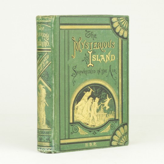 book analysis of mysterious island