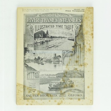 Oxford and Kingston River Thames Steamers - ,