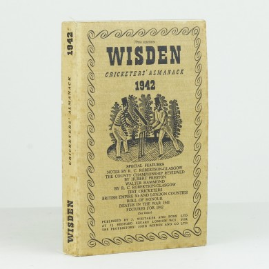 John Wisden's Cricketers' Almanack for 1942 - ,