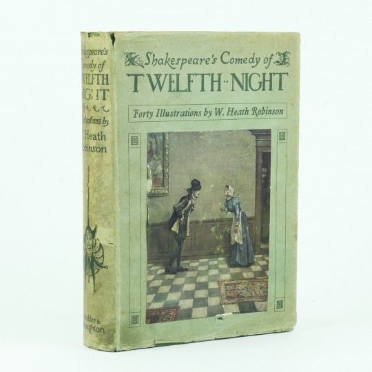 a comedy of light and shade in the twelfth night by william shakespeare Despite the ambiguous and shifting gender roles in the play, twelfth night remains a romantic comedy in which the characters are destined for marriage in such a world, homoerotic attraction cannot be fulfilled.