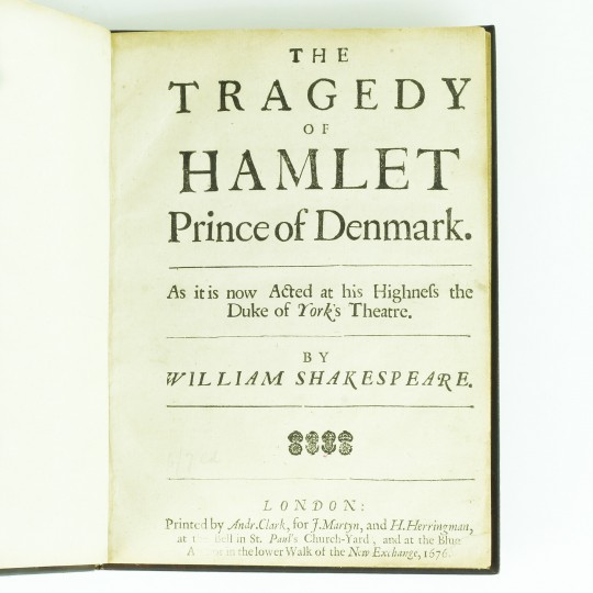 an analysis of tragedy of hamlet prince of denmark by william shakespeare Disguise in the tragedy hamlet, prince of denmark that analysis results in the  presentation of the disguise as shakespeare's medium to depict the refinement.