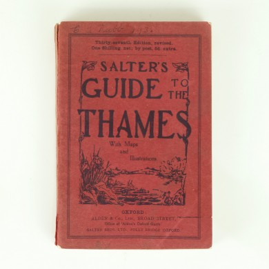 Salter's Guide to the Thames 1935 - ,