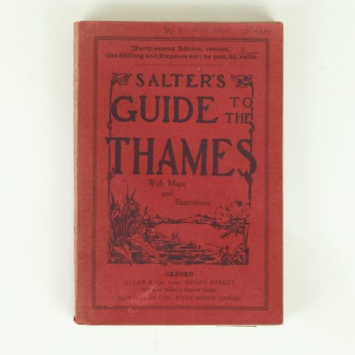 Salter's Guide to the Thames 1940 - ,
