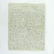 Autograph Letter Signed By Lewis C S Jonkers Rare Books