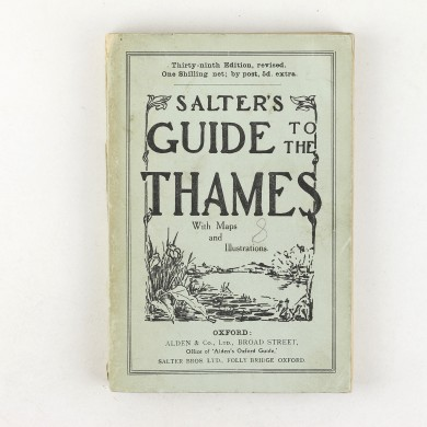 Salter's Guide to the Thames 1937 - ,