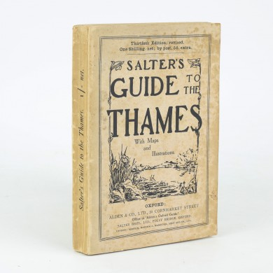 Salter's Guide to the Thames 1928 - ,